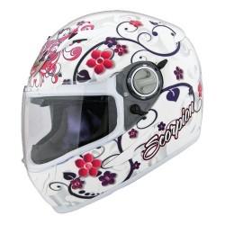 Scorpion EXO-500 Dahlia Helmet White