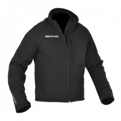 Supershell mens textile jacket black - Oxford