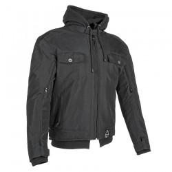 Joe Rocket's GREAT WHITE NORTH Textile Jacket BLACK