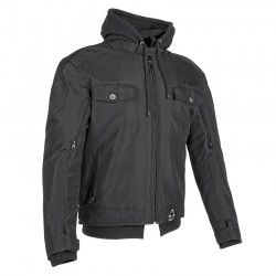 Joe Rocket's GREAT WHITE NORTH Textile Jacket BLACK