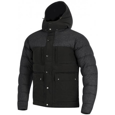 TYLER DOWN Textile jacket Black / Anthrecite Alpinestars