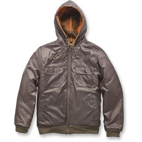 MIRA COSTA Textile Jacket Green Brown
