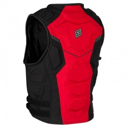 CRITICAL MASS™ ARMORED VEST RED - by Speed & Strength