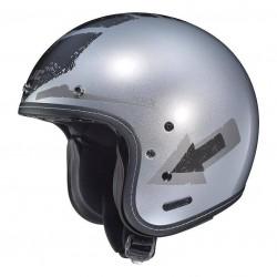 IS-5 Arrow Helmet flat silver/ black HJC