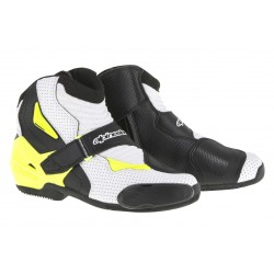SMX-1R Boot Vented Black/White/Yellow Flourescent