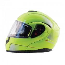 Modular Flip up Helmet Z-MOD10 ATOM Hi- Vis Yellow