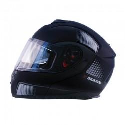 Flip up Modular Helmet Z-MOD10 ATOM Black