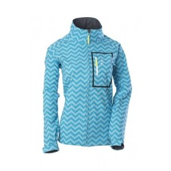 DSG SOFTSHELL JACKET - Aqua Blue