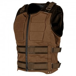TRUE GRIT™ ARMORED VEST Brown by Speed & Strength