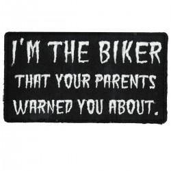 i M the biker Patch