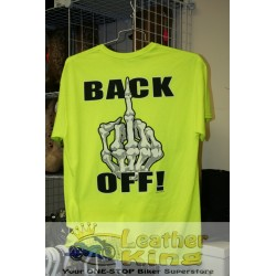 Hi Vis NEON - BACK-OFF - Tee