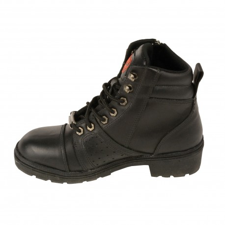 Women's Lace to Toe Boot w/Contrast Stitching 9300