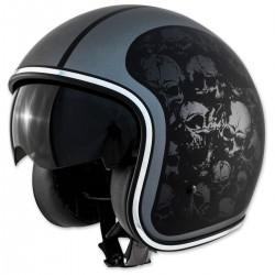 Route 80 DDV Skulls Helmet Open face
