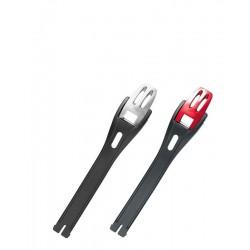TCX Alumunium bucles Medium 16.5 cm