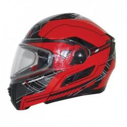 Modular Helmet - Flip up Helmet Red CONDOR SVS FLUENT