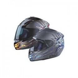 MECHANICALAMITY blue Zox helmet
