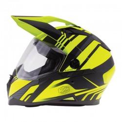 Dual sport Helmet Z-DS10 STITCH Matte Hi Vis