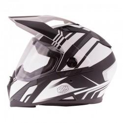 Dual sport Helmet Z-DS10 STITCH Matte White