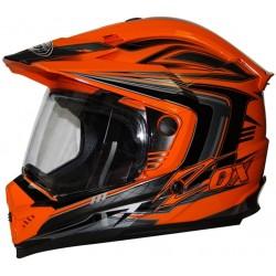 Rush SFX Adventure Orange Helmet