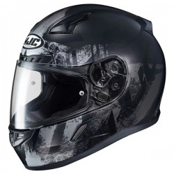 CL-17 Helmet HJC Africa silver black