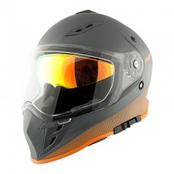 RKT 25 Series Tri Sport – Solar Flare Grey - Orange