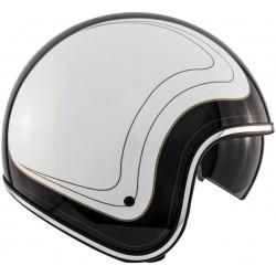 Open face Helmet Route 80 DDV White