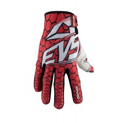 Light weight textile /Synthetic Gloves EVS CELL Red