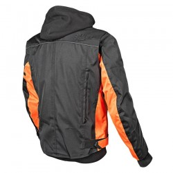 OFF THE CHAIN™ 2.0 Textile Jacket Black /Orange