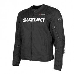 SUZUKI SUPERSPORT Textile Jacket Black