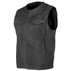 Joe Rocket's MISSION Denim Vest - Black