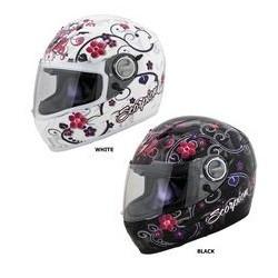 Scorpion EXO-500 Dahlia Helmet Black Red