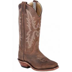 Canada West 4139 Dark Brown Crazy Horse Ladies' BRAHMA® Ropers