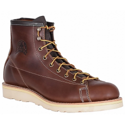 Men's WM. Moorby® 2832 Pecan Tumbled / Lace to Toe Boots