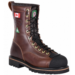 Canada West 34432 Pecan Tumbled/Climber Lace Work Boots CSA Grade 1
