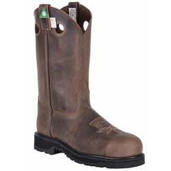 "Canada West 5297 12"" Crazy Goucho Steel-Toe Work Western Boots- CSA Grade 1"