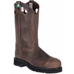 "Canada West 5298 12"" Crazy Goucho Steel-Toe Work Western Boots- CSA Grade 1"