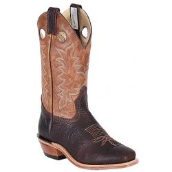 "Canada West 13"" 6563 Brown Oiled Bullhide/Texano Brown Brahma Buckaroos"