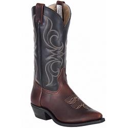 Canada West 6987 Volcano Crazy Horse Men's Bullrider Boots