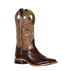Boulet 9359 Ranch Hand Tan Wide Square Toe Boots
