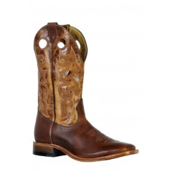 Boulet 9357 Grizzly Sand Wide Square Toe Boots