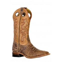 Boulet 9387 Rio Brown Wide Square Toe Boots