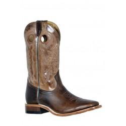 Boulet 9367 Damiana Moka Wide Square Toe Boots