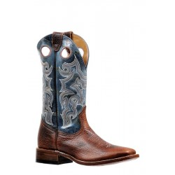 Boulet 9293 Utta Whisky Wide Square Toe Boots