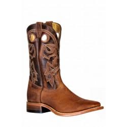 Boulet 9341 HillBily Golden Wide Square Toe Boots