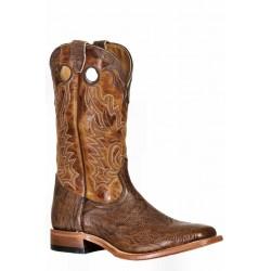 Boulet 9393 Shoulder Taurus Noce Wide Square Toe Boots