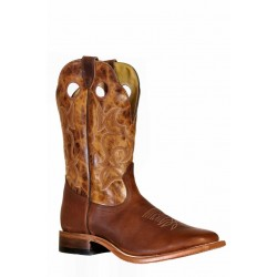 Boulet 9358 Grizzly Sand Wide Square Toe Boots