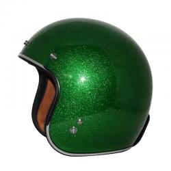 Zox ROUTE 80 VINTAGE METAL FLAKE Green Helmet