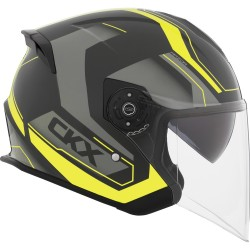 CKX Razor RSV Open Face Helmet Sting yellow