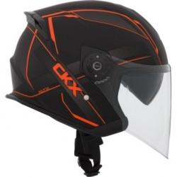 CKX Razor RSV Open Face Helmet Orange