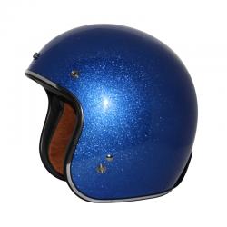 Zox ROUTE 80 VINTAGE METAL FLAKE Blue Helmet